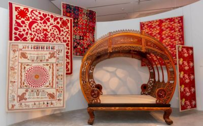 moon bed and textiles