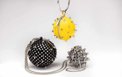 PEM X Maya Luz limited edition wristlet handbags