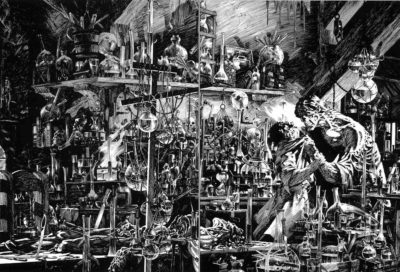 Wrightson's Frankenstein