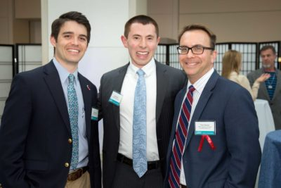 Jay Connolly, PEM Corporate Partner and VP at Connolly Brothers, Inc.; Elliot Isen, PEM's Corporate Relations Officer and Thomas Dionne, PEM Corporate Committee member and VP of Business Development at Connolly Brothers, Inc.