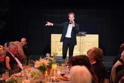 Auctioneer Robbie Gordy Associate Vice President at Christie's New York