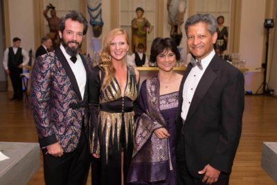 Gala Committee Co-Chairs Stephanie and Clem Benenson and Sunita and Brian Pereira