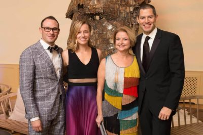 Gala Committee Members Erin and Andy Heiskell and Justin and Molly Cook