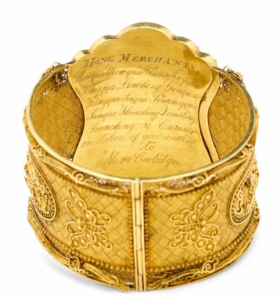 Probably retailed by Cutshing, Active 1826–75, Guangzhou, China. Bracelet, about 1840