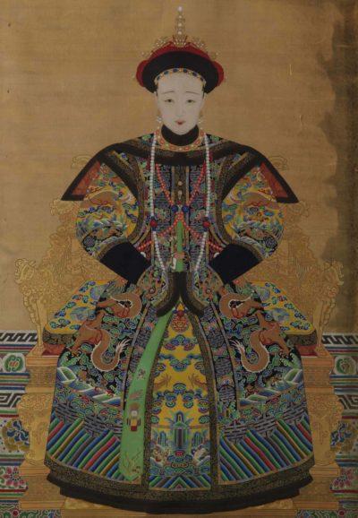 Portrait of Empress Xiaomu Cheng