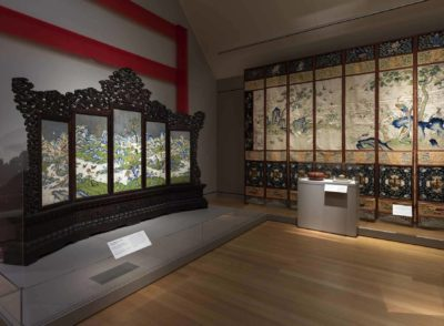 Empresses exhibition gallery view