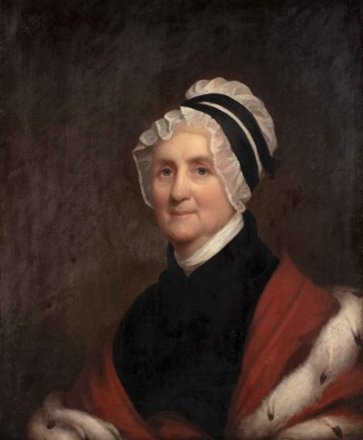 Portrait of Rachel Hathorne Forrester.1822 by James Frothingham