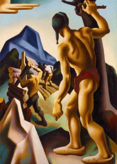 Thomas Hart Benton, The Lost Hunting Ground, 1927-28