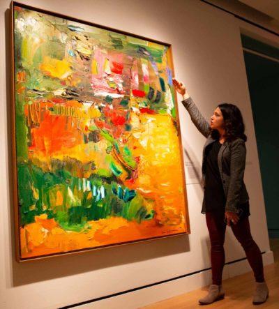 Hofmann's In the Wake of the Hurricane, PEM Associate Curator Lydia Gordon