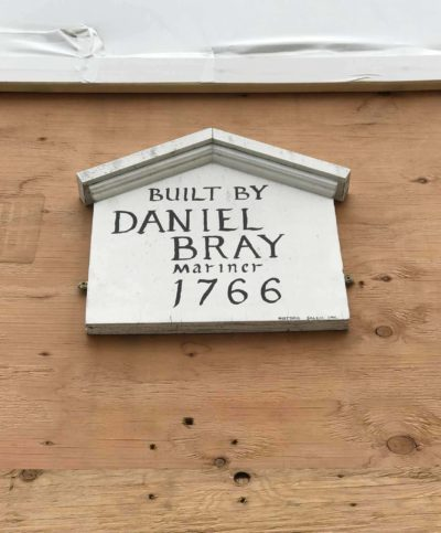 Daniel Bray House sign