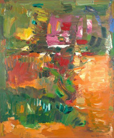 Hans Hofmann, In the Wake of the Hurricane, 1960