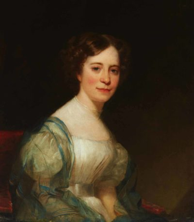 Chester Harding, Portrait of Sophia Peabody, 1830