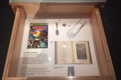 """Sea Phantoms..."" in the Lunar Attractions exhibit."