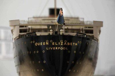 Model of RMS Queen Elizabeth,