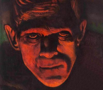 (Detail) Frankenstein, 1931, produced by Universal Pictures