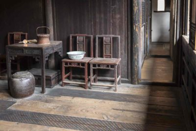 Interior room of Yin Yu Tang ©2014 Peabody Essex Museum. Photography by Kathy Tarantola.