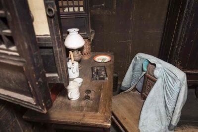 Desk and chair in Yin Yu Tang