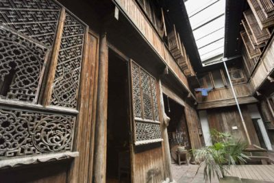 Interior forecourt of Yin Yu Tang