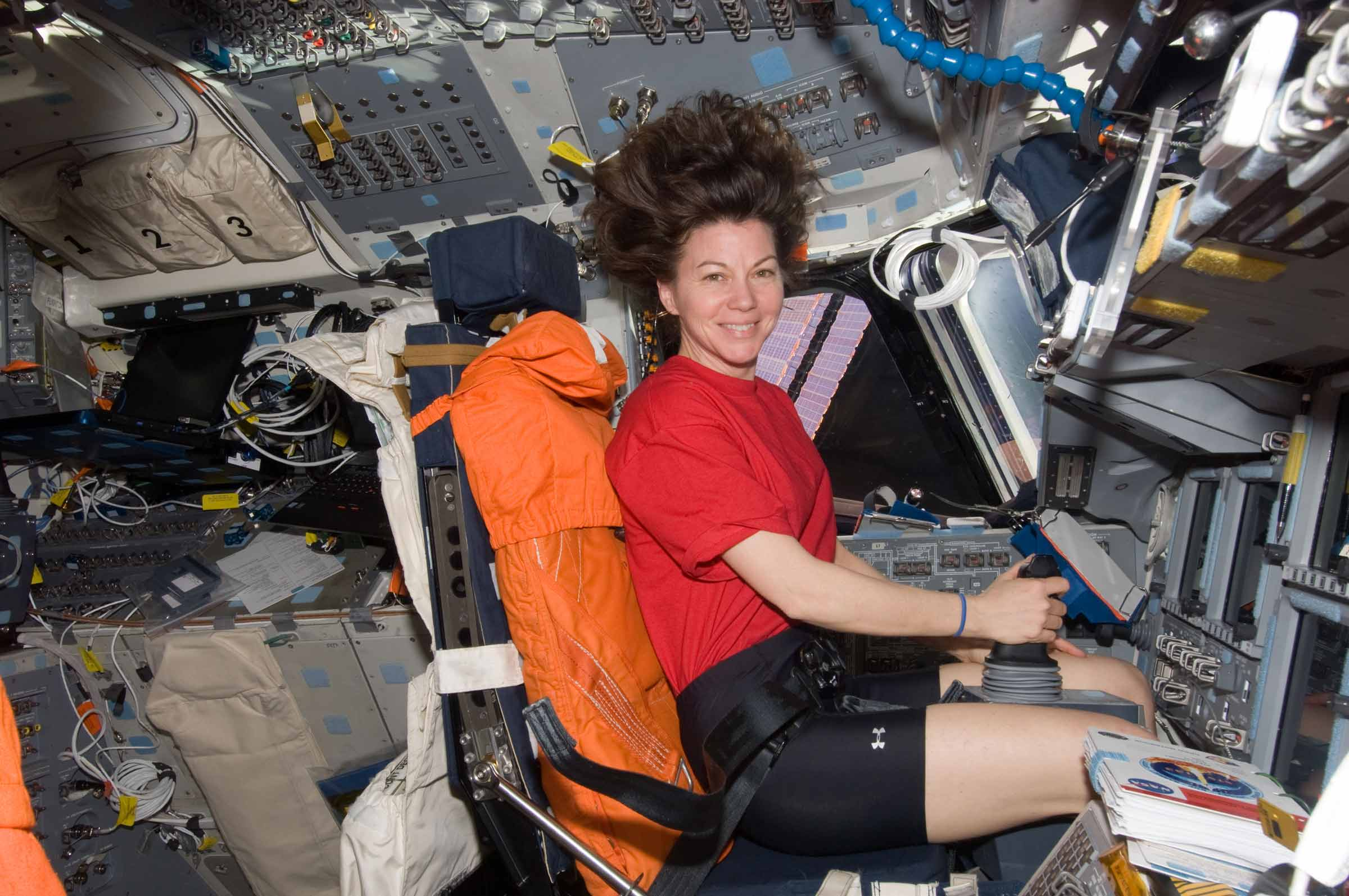 Astronaut Cady Coleman. Photo courtesy of NASA.