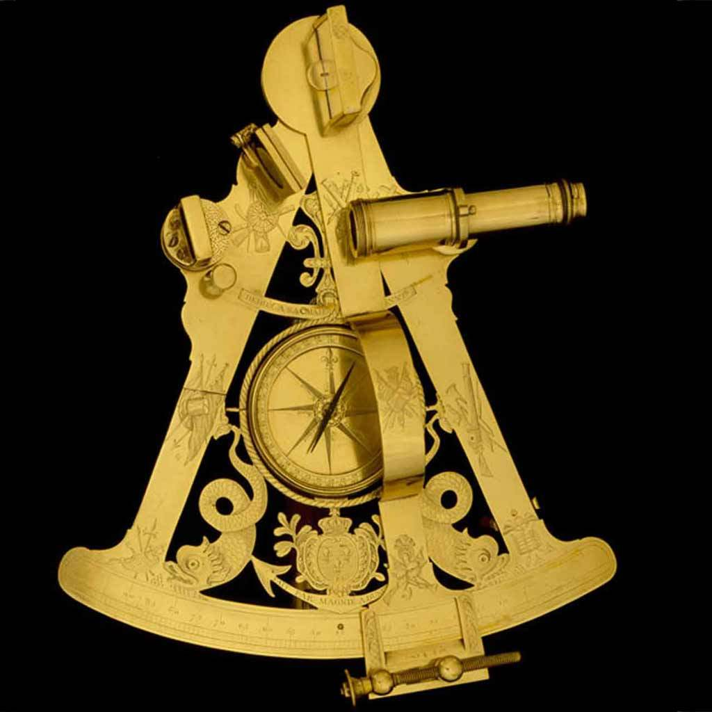 Royal Presentation Octant, about 1786