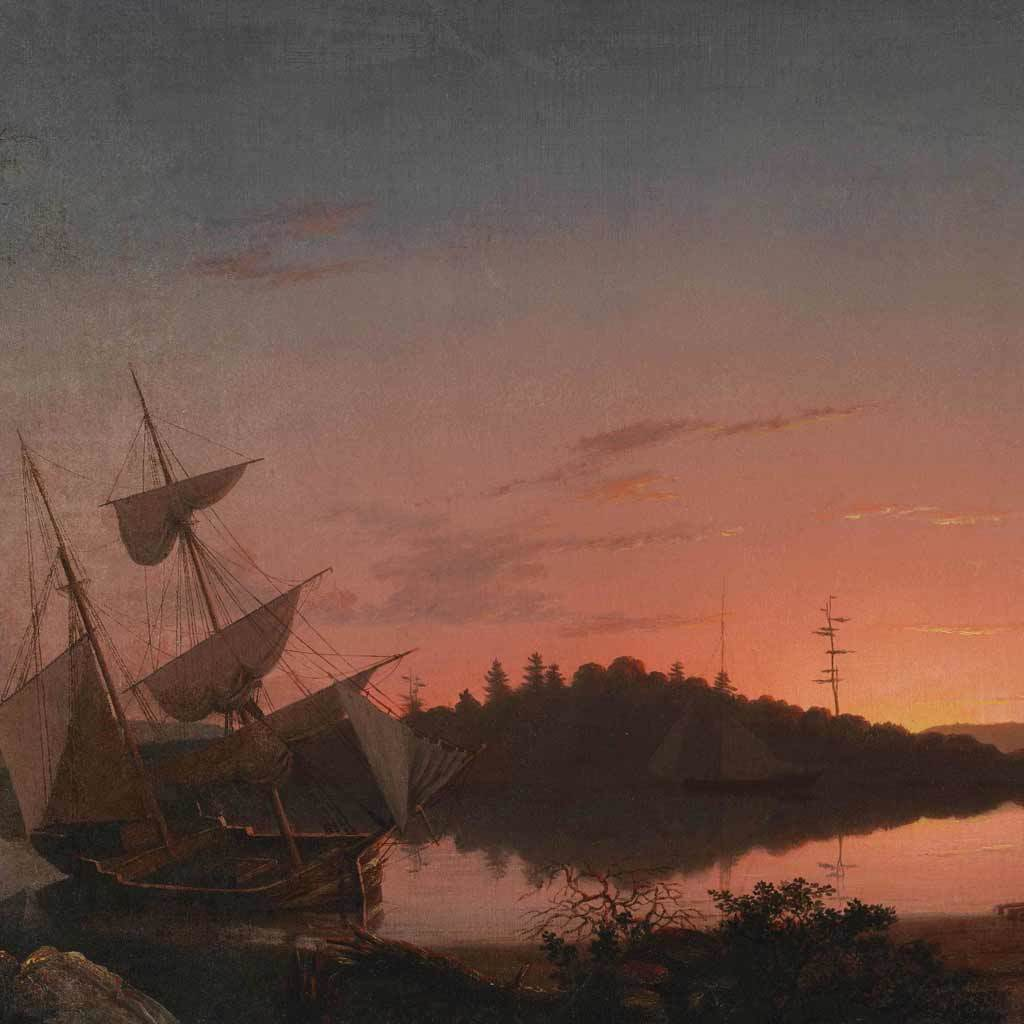 Twilight on the Kennebec, 1849