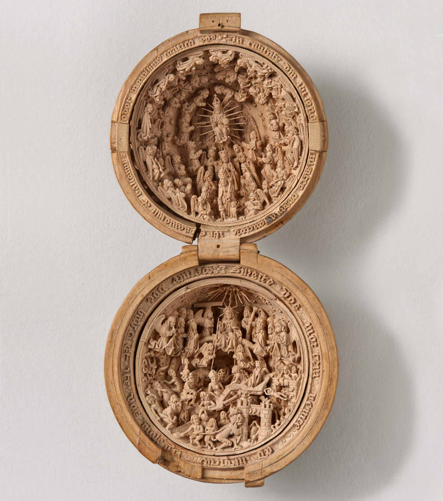 Heaven and the Day of Judgement. Boxwood.