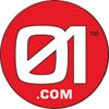 01.com, Inc. logo