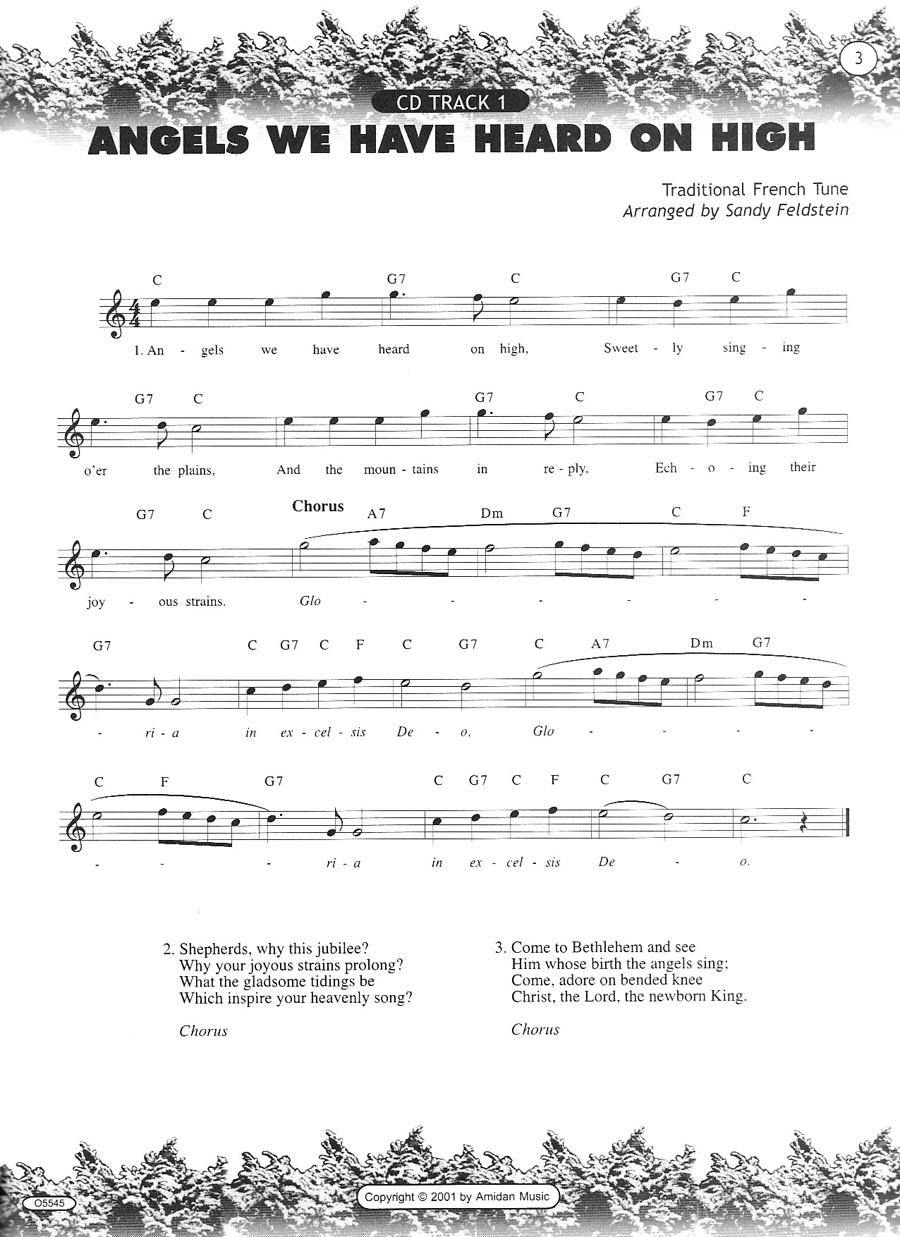 Penders Music Co. - Play-along Christmas-27 Favorites-alto S