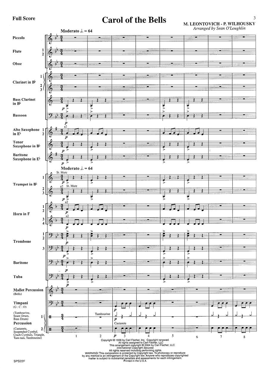 Penders Music Co. - Carol Of The Bells