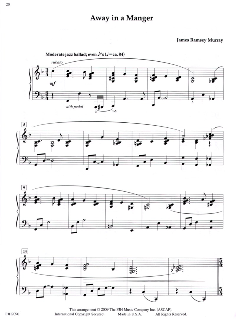 Sheet Music - Pender\'s Music Co.