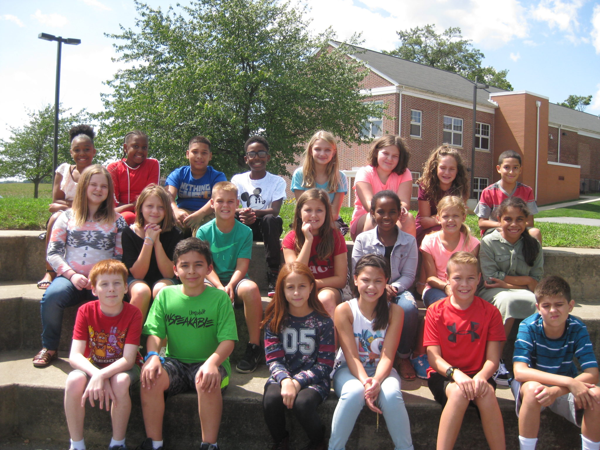 Class picture - 1st day of school