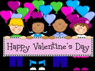 w valentine clip art for kids childrens