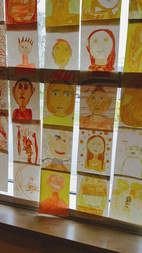 yellow portriats