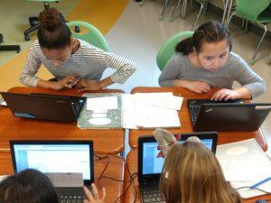 students blogging