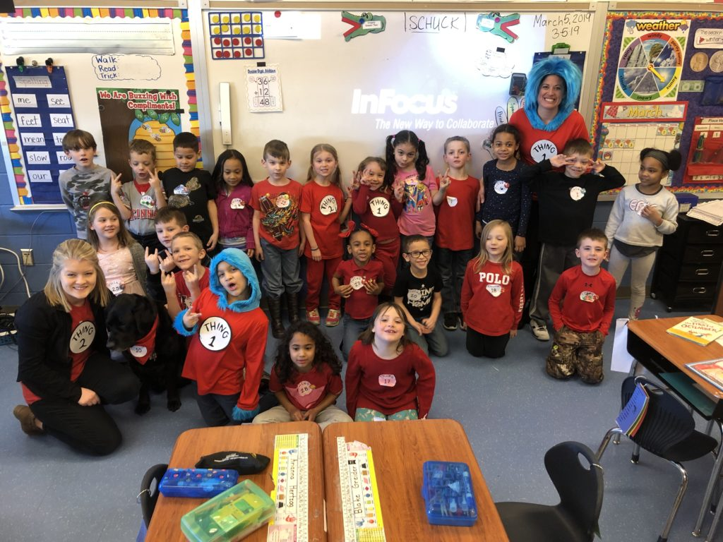 class pic dressed at things 1 and 2