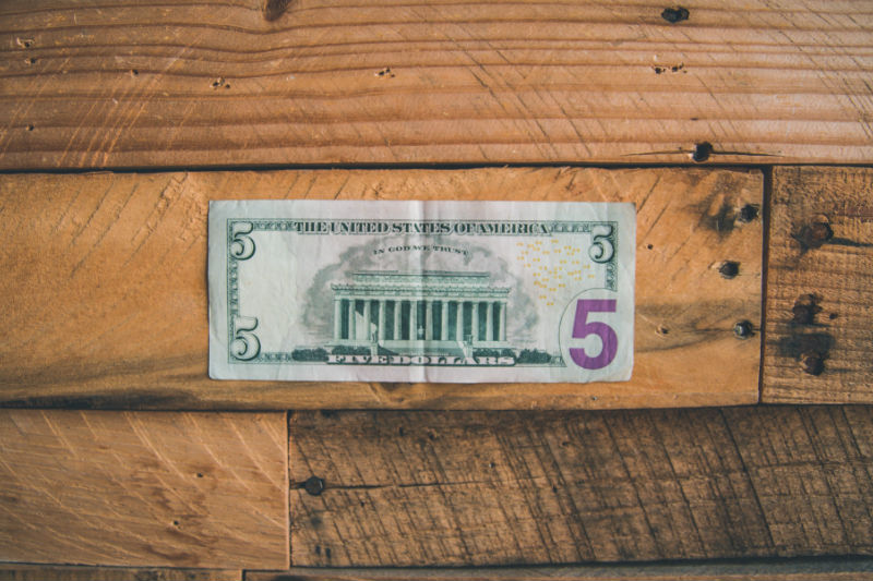 $5 Bill Saving Hack