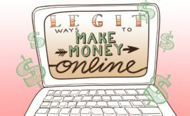 Legit ways to make money online.