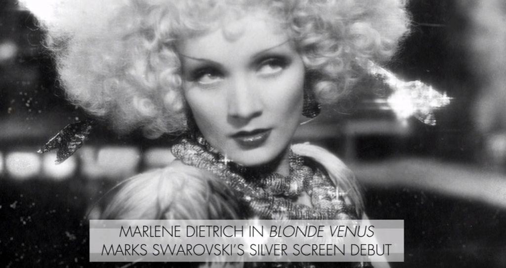 Swarovski celebrating film