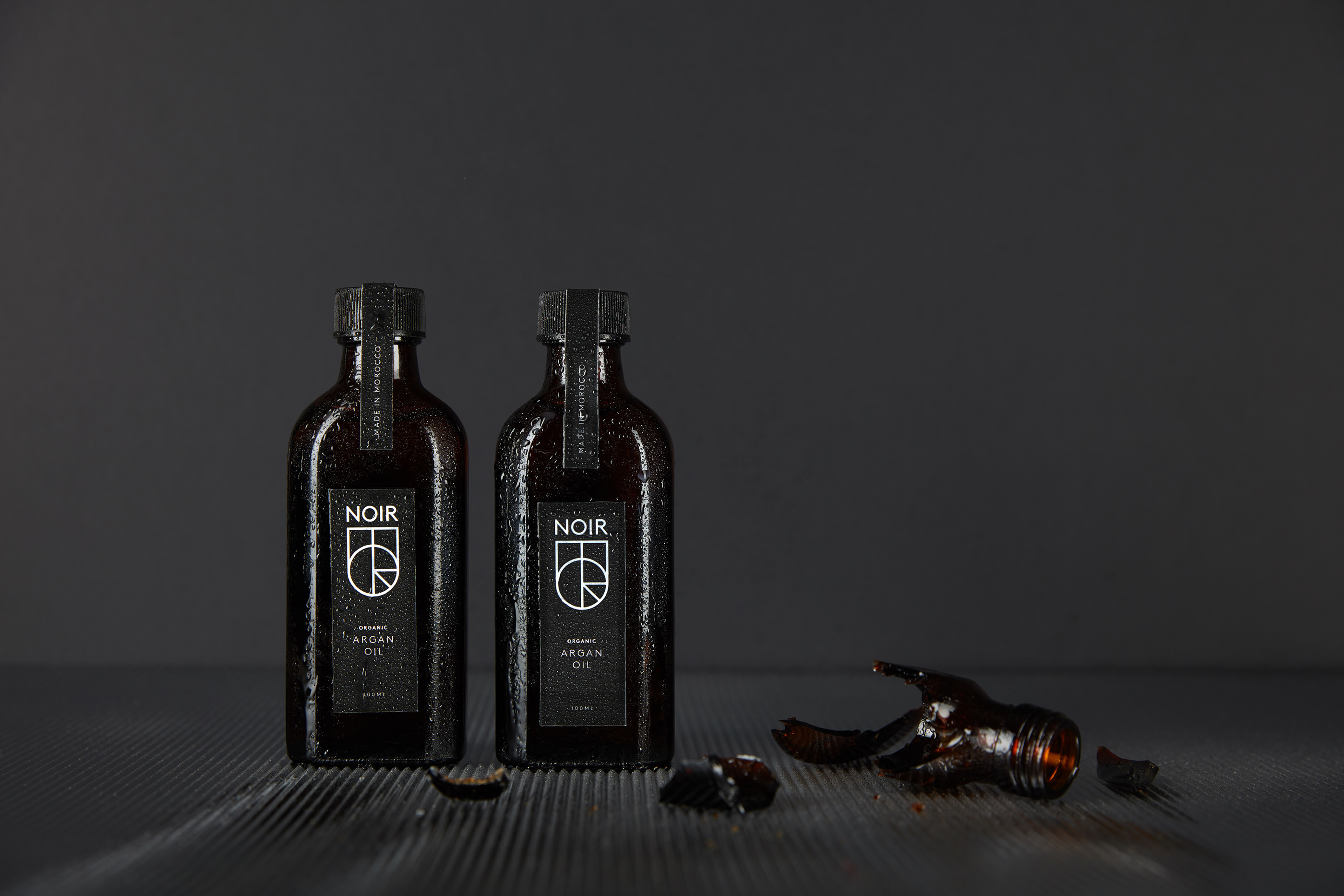 Noir Argan Oil Branding