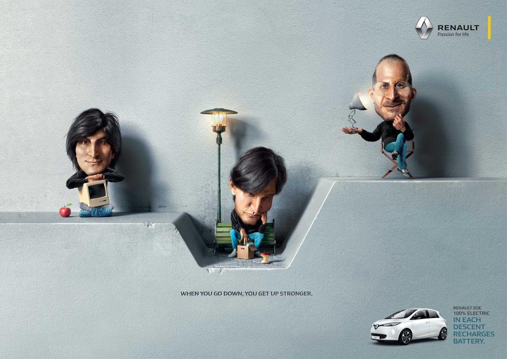 Реклама для Renault Zoé