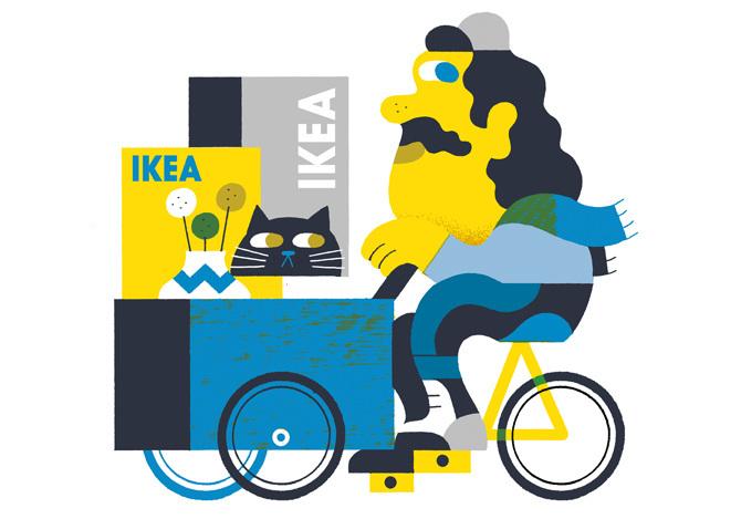 IKEA illustrations