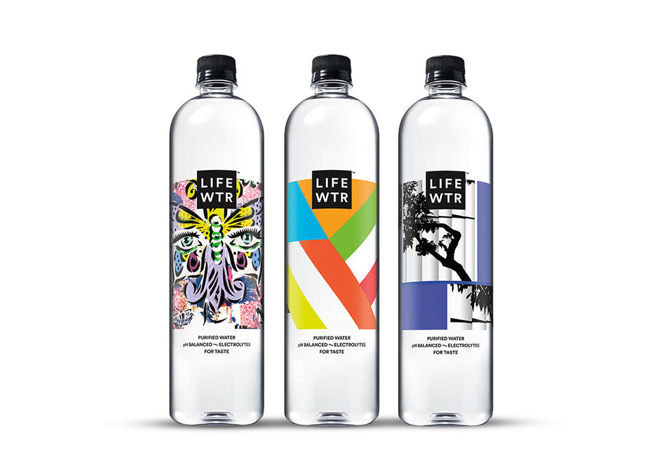 LIFEWTR Series 5 Bottled Water