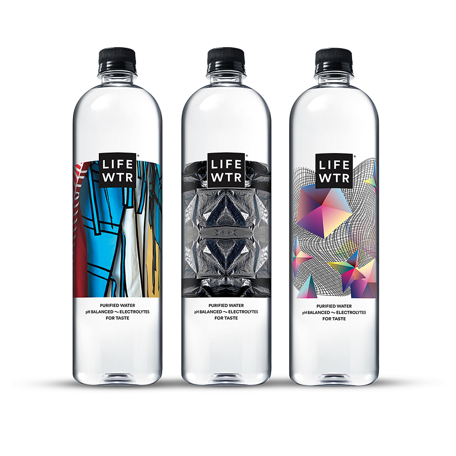 LIFEWTR Series 6 Bottled Water by PepsiCo Design & Innovation