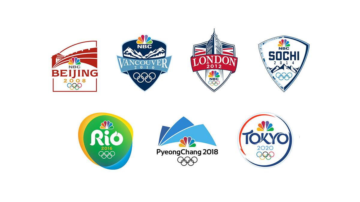 NBC Tokyo Olympic Branding 2020