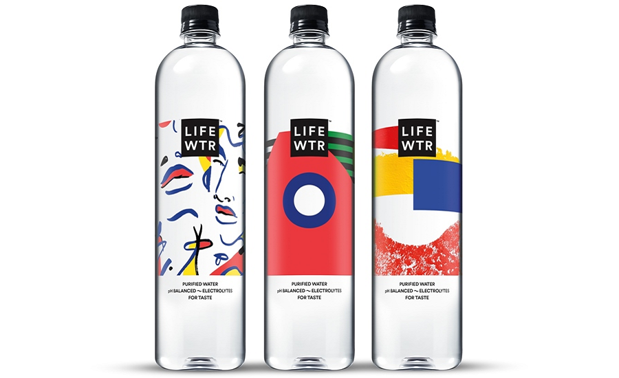 LIFEWTR Series 2 Bottled Water — Woman in Art