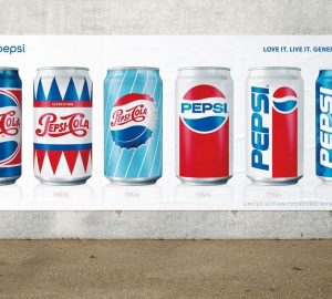 Pepsi Generations Beverage Packaging
