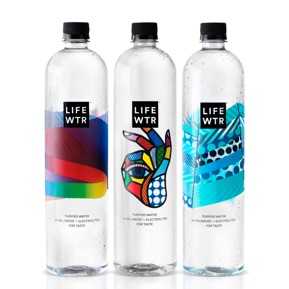 LIFEWTR Series 1 Bottled Water by PepsiCo Design & Innovation