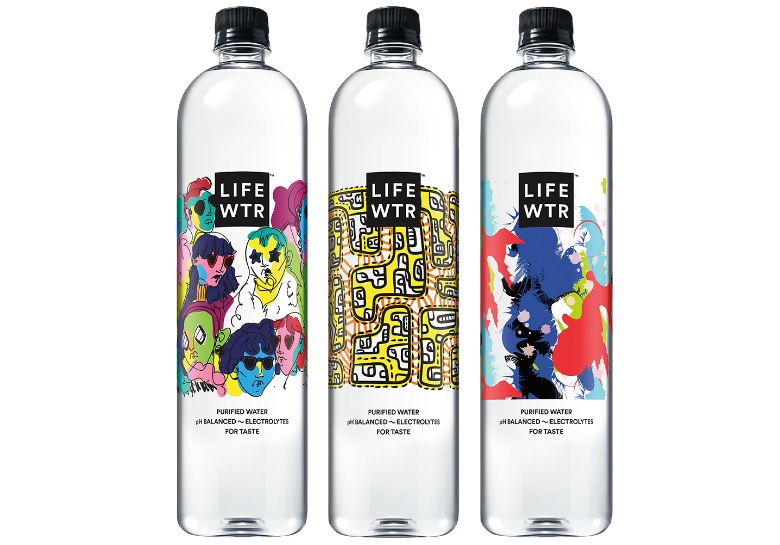 LIFEWTR Series 3 Bottled Water by PepsiCo Design & Innovation