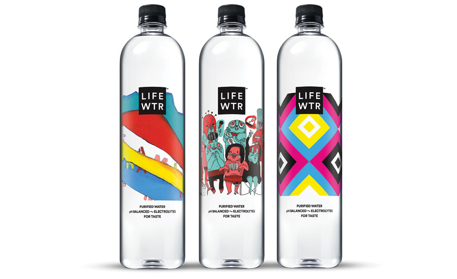 LIFEWTR Series 4 Bottled Water