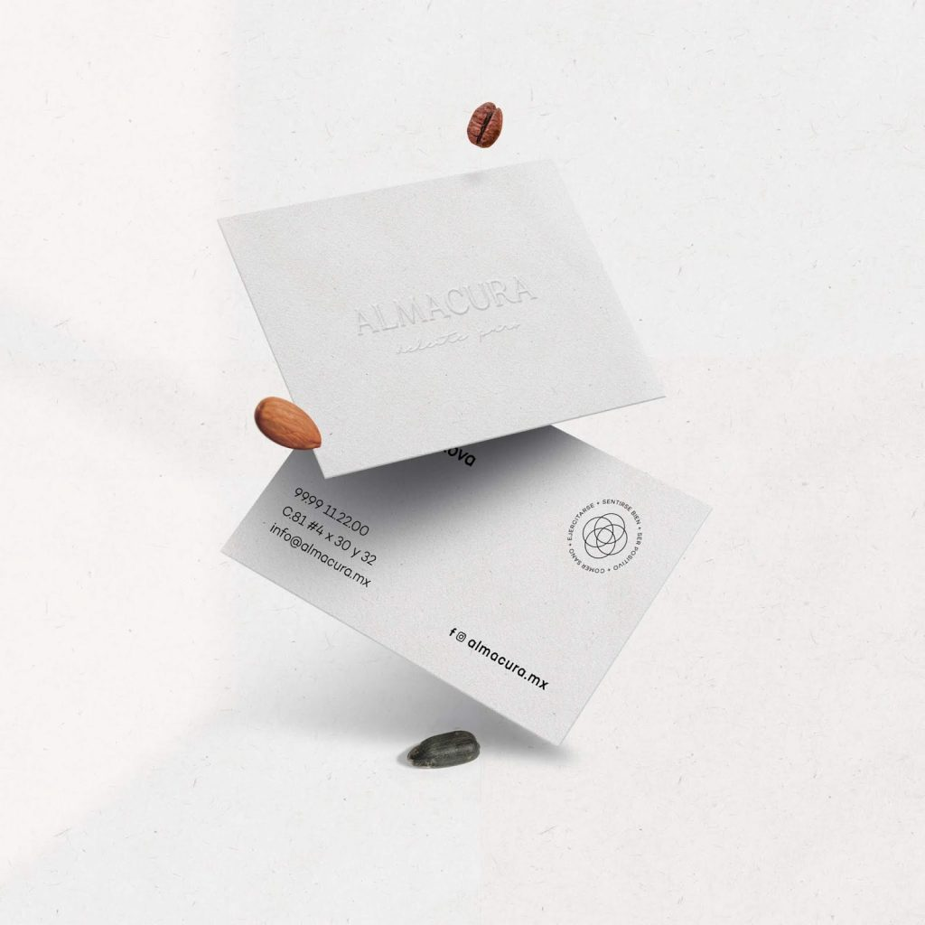 Almacura packaging and branding